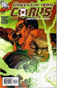 Cover Thumbnail for Green Lantern Corps: Recharge (DC, 2005 series) #3
