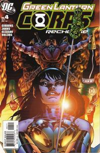 Cover Thumbnail for Green Lantern Corps: Recharge (DC, 2005 series) #4