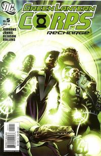 Cover Thumbnail for Green Lantern Corps: Recharge (DC, 2005 series) #5