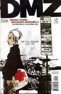 Cover Thumbnail for DMZ (DC, 2006 series) #2