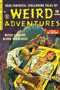 Cover Thumbnail for Weird Adventures (P.L. Publishing, 1951 series) #3