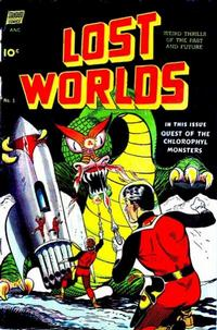 Cover Thumbnail for Lost Worlds (Pines, 1952 series) #5