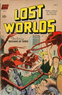 Cover Thumbnail for Lost Worlds (Pines, 1952 series) #6