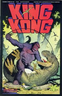 Cover Thumbnail for King Kong (Fantagraphics, 1991 series) #3