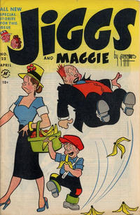 Cover Thumbnail for Jiggs & Maggie (Harvey, 1953 series) #22