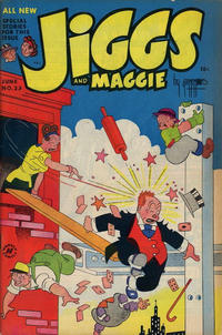 Cover Thumbnail for Jiggs & Maggie (Harvey, 1953 series) #23