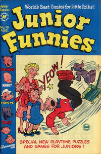 Cover Thumbnail for Junior Funnies (Harvey, 1951 series) #10