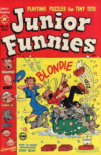 Cover Thumbnail for Junior Funnies (Harvey, 1951 series) #11