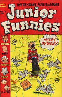 Cover Thumbnail for Junior Funnies (Harvey, 1951 series) #13