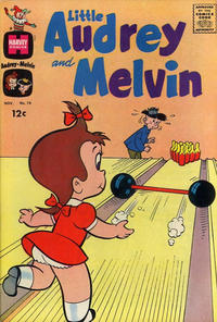 Cover Thumbnail for Little Audrey and Melvin (Harvey, 1962 series) #10