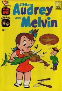 Cover Thumbnail for Little Audrey and Melvin (Harvey, 1962 series) #13
