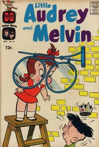 Cover Thumbnail for Little Audrey and Melvin (Harvey, 1962 series) #14