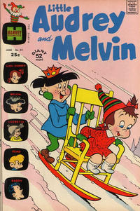 Cover Thumbnail for Little Audrey and Melvin (Harvey, 1962 series) #53