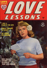 Cover Thumbnail for Love Lessons (Harvey, 1949 series) #2