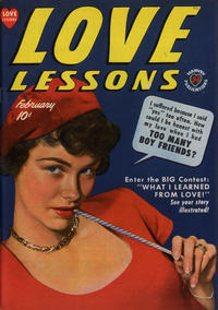 Cover Thumbnail for Love Lessons (Harvey, 1949 series) #3
