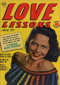 Cover Thumbnail for Love Lessons (Harvey, 1949 series) #4