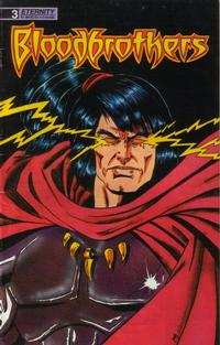 Cover Thumbnail for Bloodbrothers (Malibu, 1988 series) #3