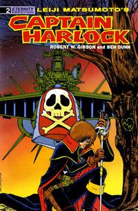 Cover Thumbnail for Captain Harlock (Malibu, 1989 series) #2