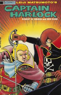 Cover Thumbnail for Captain Harlock (Malibu, 1989 series) #3