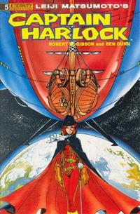 Cover Thumbnail for Captain Harlock (Malibu, 1989 series) #5