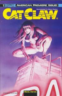 Cover Thumbnail for Cat Claw (Malibu, 1990 series) #1
