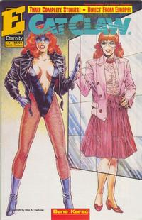 Cover Thumbnail for Cat Claw (Malibu, 1990 series) #7