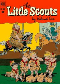 Cover Thumbnail for Little Scouts (Dell, 1951 series) #3