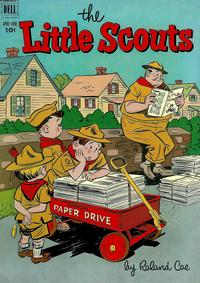 Cover Thumbnail for Little Scouts (Dell, 1951 series) #4