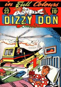 Cover Thumbnail for Dizzy Don Comics (Dizzy Don Enterprises Ltd, 1946 series) #22 [2]