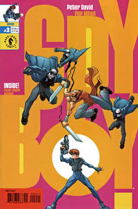 Cover Thumbnail for SpyBoy (Dark Horse, 1999 series) #2