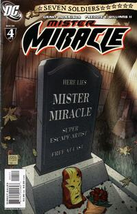 Cover Thumbnail for Seven Soldiers: Mister Miracle (DC, 2005 series) #4