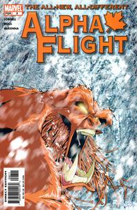 Cover for Alpha Flight (Marvel, 2004 series) #8