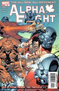 Cover Thumbnail for Alpha Flight (Marvel, 2004 series) #10
