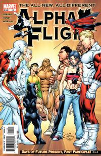 Cover Thumbnail for Alpha Flight (Marvel, 2004 series) #11