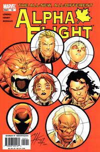 Cover Thumbnail for Alpha Flight (Marvel, 2004 series) #12