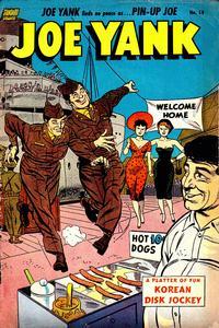 Cover Thumbnail for Joe Yank (Pines, 1952 series) #14
