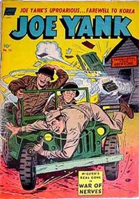 Cover Thumbnail for Joe Yank (Pines, 1952 series) #15
