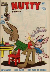 Cover Thumbnail for Nutty Comics (Harvey, 1945 series) #6