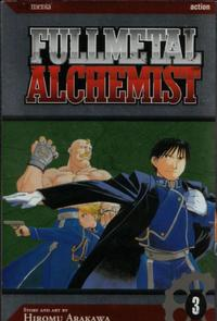 Cover for Fullmetal Alchemist (Viz, 2005 series) #3