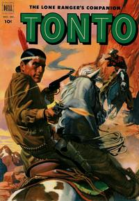 Cover Thumbnail for The Lone Ranger's Companion Tonto (Dell, 1951 series) #8