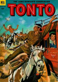 Cover Thumbnail for The Lone Ranger's Companion Tonto (Dell, 1951 series) #10