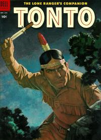 Cover Thumbnail for The Lone Ranger's Companion Tonto (Dell, 1951 series) #17