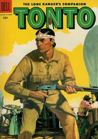 Cover Thumbnail for The Lone Ranger's Companion Tonto (Dell, 1951 series) #20
