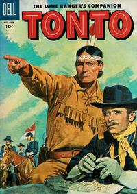 Cover Thumbnail for The Lone Ranger's Companion Tonto (Dell, 1951 series) #21