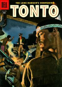 Cover Thumbnail for The Lone Ranger's Companion Tonto (Dell, 1951 series) #22