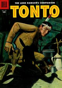 Cover Thumbnail for The Lone Ranger's Companion Tonto (Dell, 1951 series) #23
