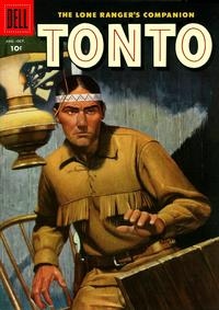 Cover Thumbnail for The Lone Ranger's Companion Tonto (Dell, 1951 series) #24