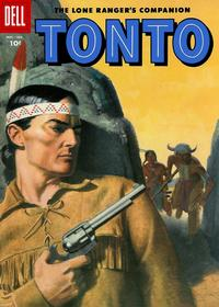 Cover Thumbnail for The Lone Ranger's Companion Tonto (Dell, 1951 series) #25