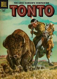 Cover Thumbnail for The Lone Ranger's Companion Tonto (Dell, 1951 series) #28
