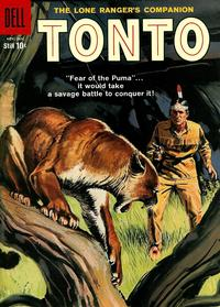 Cover Thumbnail for The Lone Ranger's Companion Tonto (Dell, 1951 series) #33